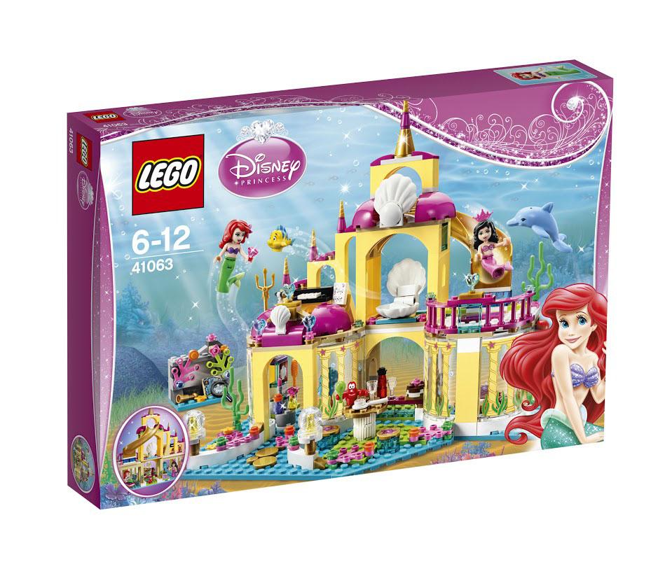 LEGO Disney Princesses Конструктор Подводный дворец Ариэль 41063