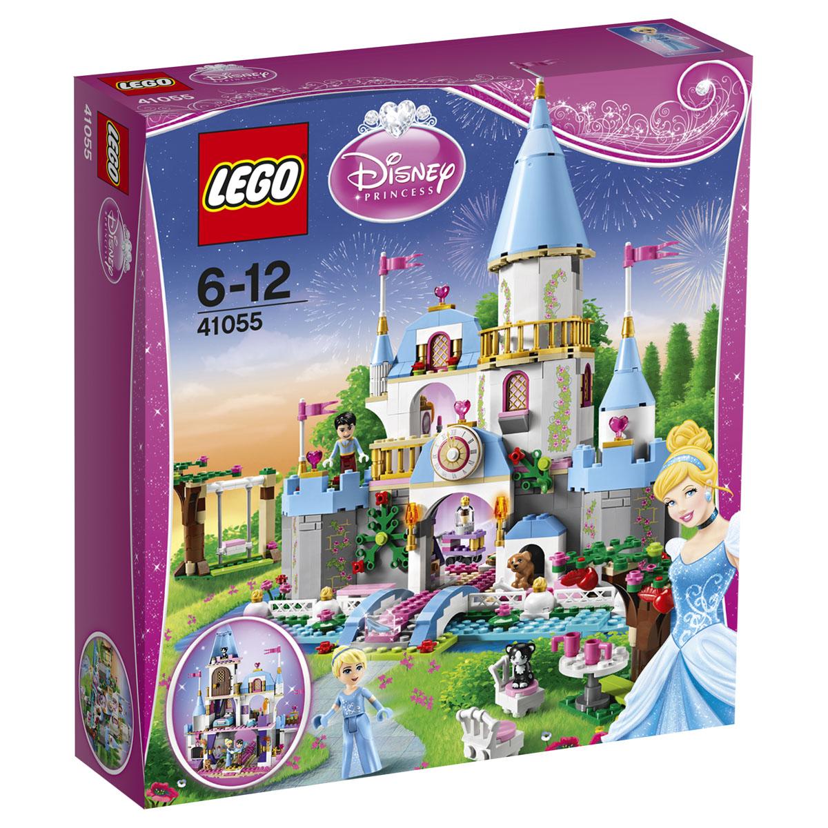 LEGO Disney Princesses Конструктор Золушка на балу в королевском замке 41055