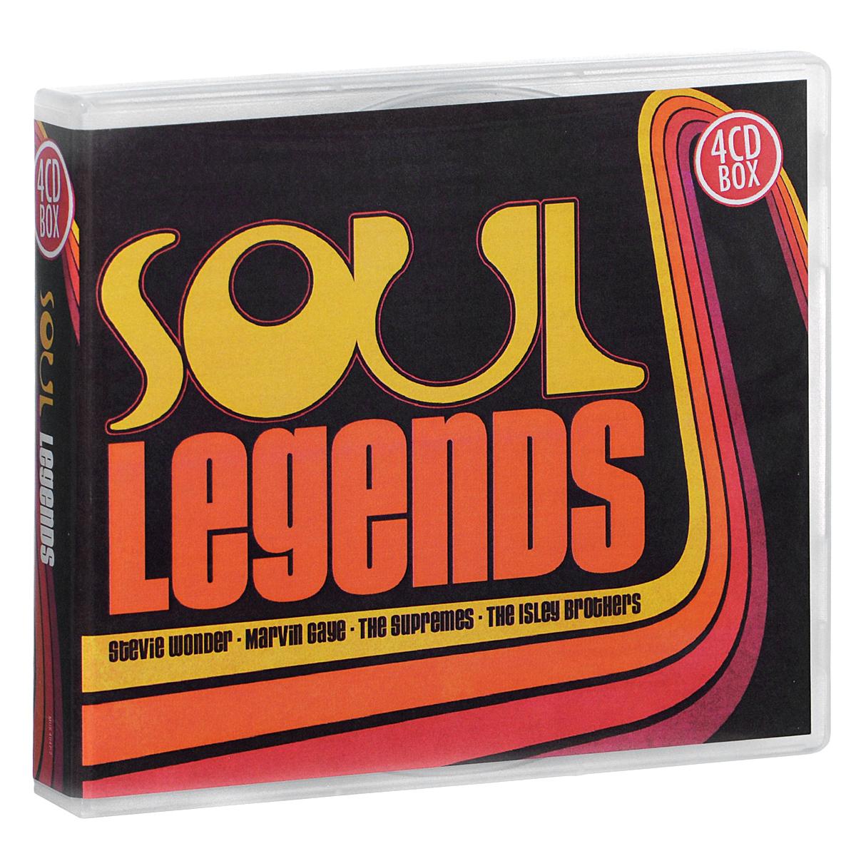 Zakazat.ru: Soul Legends (4 CD)