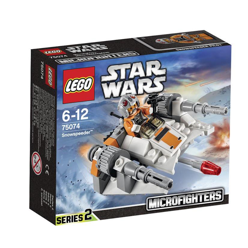 LEGO Star Wars Конструктор Снеговой спидер 7507475074Эта миниатюрная модель суперскоростного атакующего корабля повстанцев отлично подходит для небольших сражений и включает такие детали, как две ракеты и даже кабину для пилота снегового спидера. Заводи двигатель и готовься уничтожить парочку кораблей. Этот красочный игровой набор содержит 97 пластиковых элементов для сборки, 1 фигурку и инструкцию по сборке. Конструктор - это один из самых увлекательнейших и веселых способов времяпрепровождения. Ребенок сможет часами играть с конструктором, придумывая различные ситуации и истории. В процессе игры с конструкторами LEGO дети приобретают и постигают такие необходимые навыки как познание, творчество, воображение. Обычные наблюдения за детьми показывают, что единственное, чему они с удовольствием посвящают время - это игры. Игра - это состояние души, это веселый опыт познания реальности. Играя, дети создают собственные миры, осваивают их, восстанавливают прошедшие и будущие события через понарошку, а, познавая,...