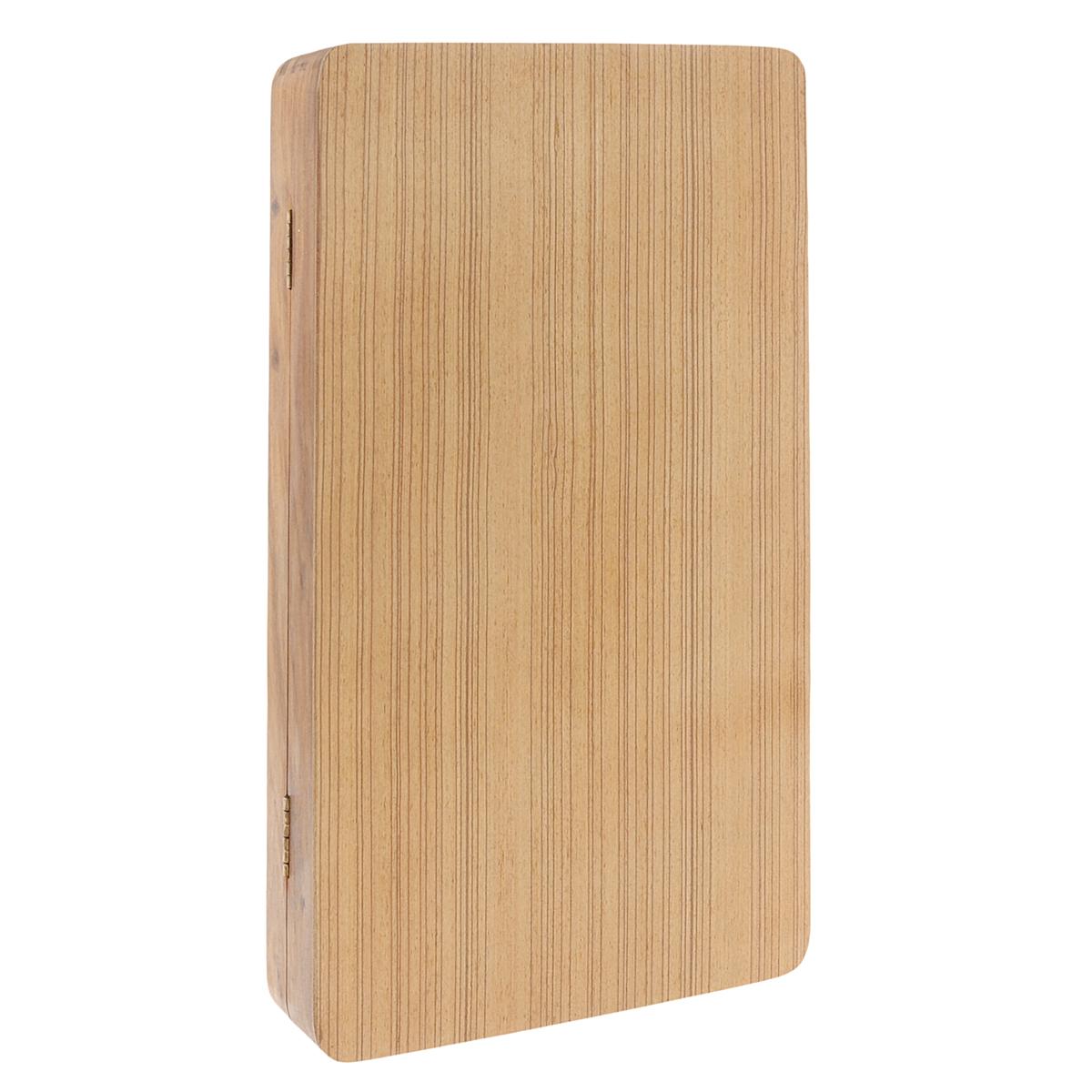 Игра настольная Русские Подарки Нарды, размер: 6*20*45 см. 3315833158Настольная игра Русские Подарки Нарды, выполненная из натурального дерева, очень увлекательна. В комплект игры входят: 32 фишки (16 белых и 16 черных), 5 кубиков и деревянное игровое поле, в сложенном виде выполняющее роль коробки для хранения фишек, закрывается на два металлических замочка. Нарды - древняя восточная игра. Родина этой игры неизвестна, однако известно, что люди играют в эту игру уже более 7000 лет. На игровой доске для нард все кратно шести и имеет связь со временем. 24 пункта представляют 24 часа, 30 шашек представляют 30 дней в месяце, 12 пунктов на каждой стороне доски символизируют 12 месяцев. Цель игры состоит в том, чтобы сначала привести шашки в свой дом (мешая в тоже время сделать это сопернику), а затем, когда это удалось сделать, снять их с доски быстрее соперника. Побеждает тот, кто первым снял свои шашки, но победы в нардах имеют разную цену. Нарды могут стать отличным подарком каждому, независимо от ситуации и возраста....