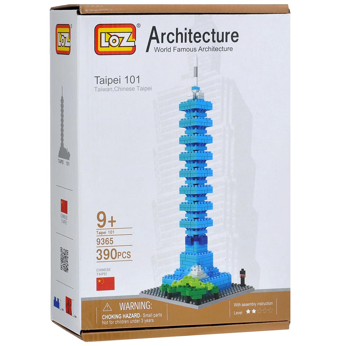 Loztoys Конструктор Небоскреб Тайбэй9365Конструктор-макет Небоскреб Тайбэй 101 - прекрасный способ провести время увлекательно и с пользой. Комплект включает в себя 390 элементов, из которых вы и ваш ребенок сможете собрать модель небоскреба, расположенного в столице Китайской Республики — Тайбэе. Для сборки модели клей и ножницы не понадобятся. Элементы оснащены пазами для легкого соединения. В комплект входит схематичная инструкция по сборке. Небоскреб Тайбэй 101 - небоскреб, расположенный в столице Китайской Республики - Тайбэе. Этажность небоскреба составляет 101 этаж, высота - 509,2 м, вместе со шпилем. На нижних этажах находятся торговые центры, на верхних - расположены офисы. Является пятым по высоте в мире среди всех зданий, после Бурдж-Халифа в Дубае, Абрадж аль-Бейт в Мекке, Шанхайской башни в Шанхае и ВТЦ 1 в Нью-Йорке. В этом небоскребе находятся самые быстрые лифты в мире, поднимающиеся со скоростью 60,6 км/ч. С пятого этажа до обзорной площадки на 89-м можно доехать за 39 секунд. Здание...