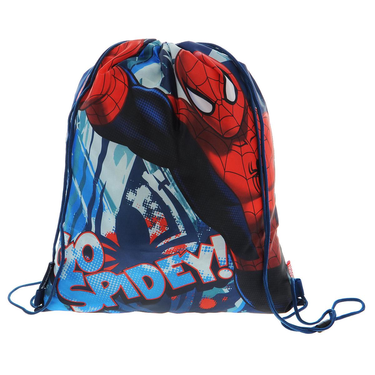 Spider-Man Сумка для сменной обуви Spider-man Classic цвет синий красный