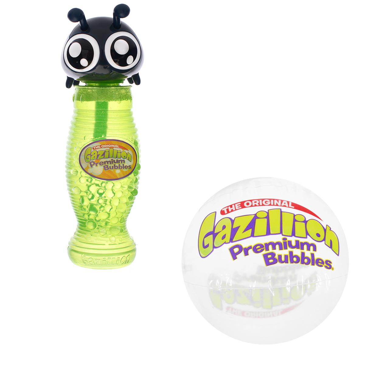 Мыльные пузыри Gazillion Bubbles Божья коровка, 300 мл36341_бож.коровкаВсе дети обожают пускать мыльные пузыри! С мыльными пузырями Gazillion Bubbles это будет вдвойне интереснее! Ваш ребенок сможет надуть великолепные пузыри разных размеров, которые будут переливаться всеми цветами радуги и парить в воздухе, радуя его. Во флаконе есть палочка-насадка для выдувания бесчисленного количества пузырьков и оригинальная крышечка в виде божьей коровки.