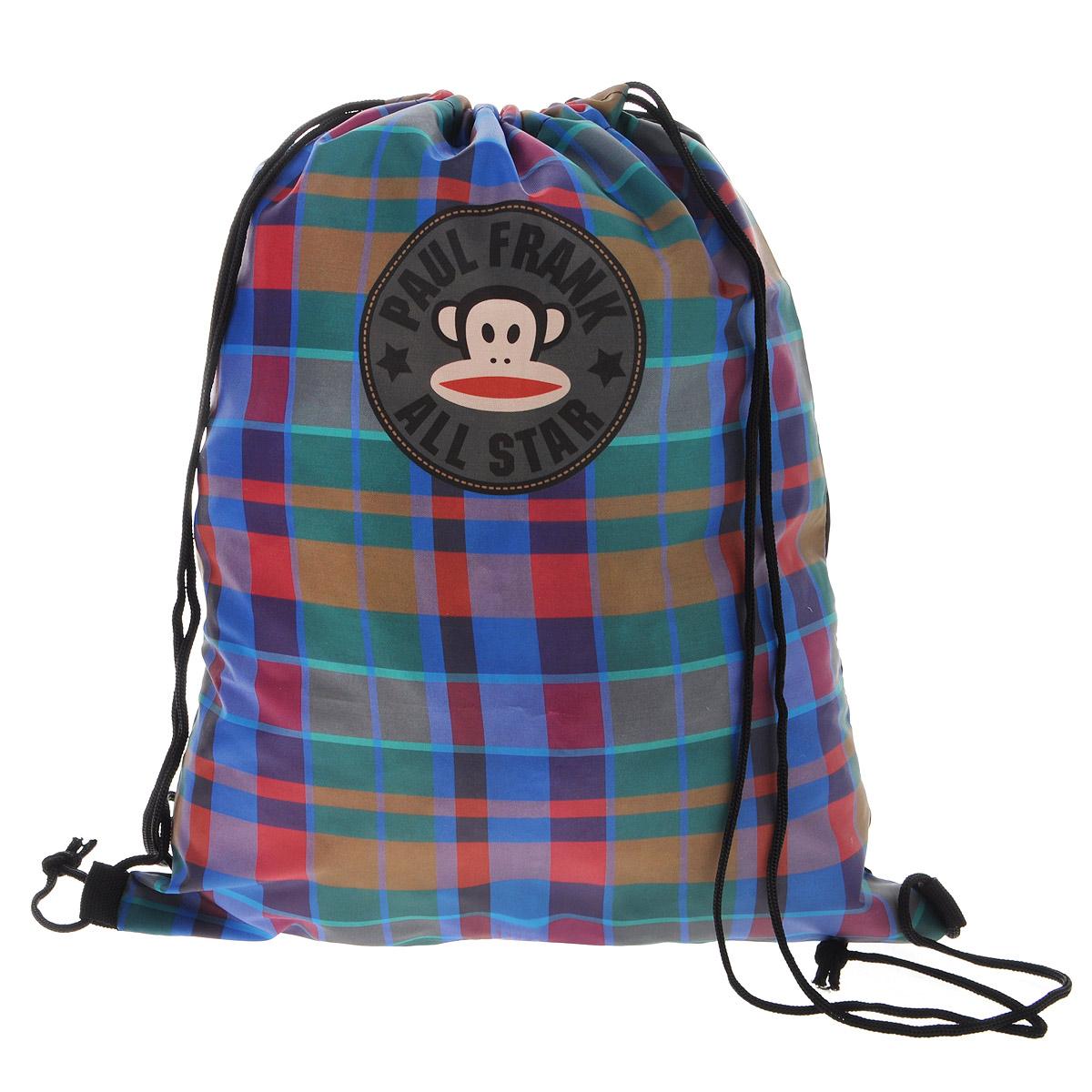 Paul Frank Сумка-рюкзак для обуви цвет коричнево-красный PFCB-UT1-883