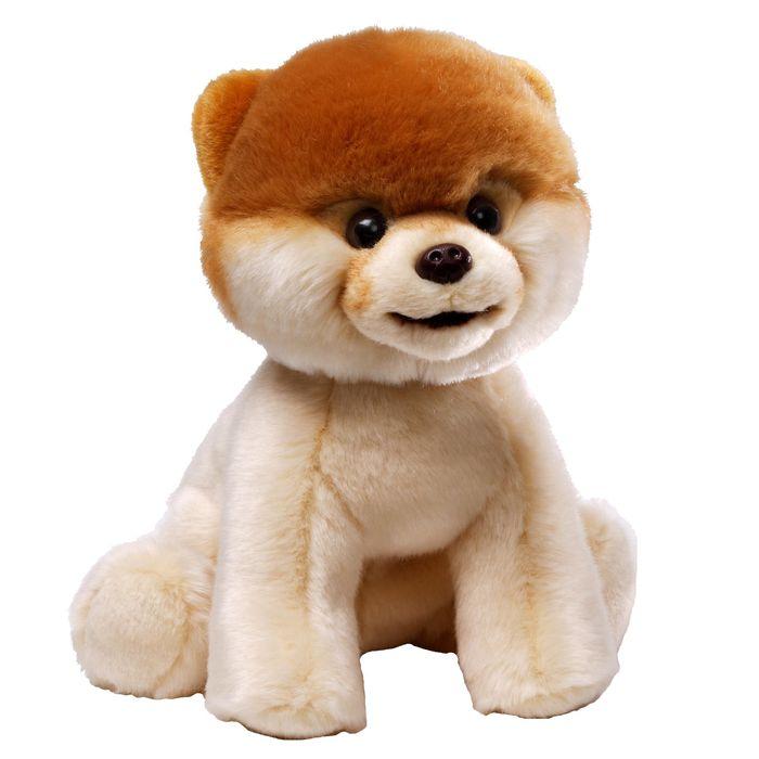 Игрушка мягкая Gund Boo, цвет: бежевый, коричневый, 23 см. 40297154029715Очаровательная мягкая игрушка Boo не оставит вас равнодушным и вызовет улыбку у каждого, кто ее увидит. Игрушка выполнена из полиэстера в виде милого щеночка. Милые, мягкие и безопасные игрушки отличаются реалистичным внешним видом, напоминающим настоящего питомца. Только посмотрите на эту милую мордашку, которая так приветливо смотрит на вас. Разве можно устоять перед ее обаянием? Конечно нет, да и не нужно! Такая игрушка вызывает умиление не только у детей, но и у взрослых. Поэтому она станет отличным подарком не только ребенку, но и друзьям!