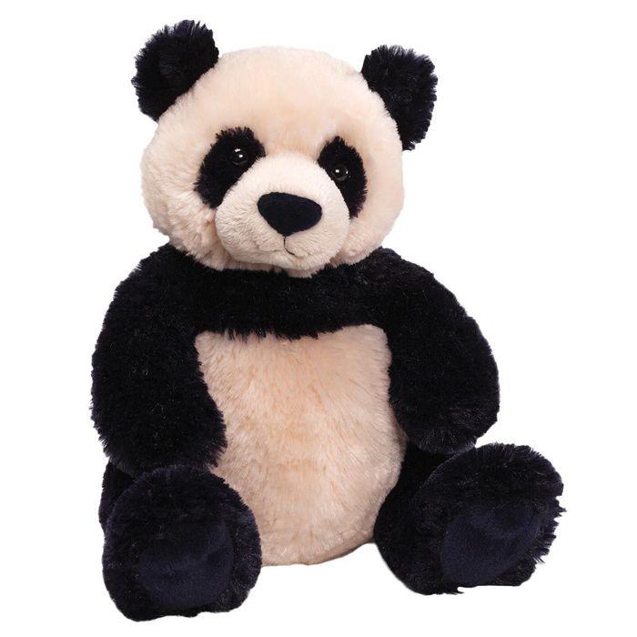 Игрушка мягкая Gund Zi Bo Panda, цвет: черный, бежевый, 29 см. 320707320707Очаровательная мягкая игрушка Zi Bo Panda не оставит вас равнодушным и вызовет улыбку у каждого, кто ее увидит. Игрушка выполнена из полиэстера в виде симпатичной панды. Милые, мягкие и безопасные игрушки отличаются реалистичным внешним видом, напоминающим настоящего питомца. Только посмотрите на эту милую мордашку, которая так приветливо смотрит на вас. Разве можно устоять перед ее обаянием? Конечно нет, да и не нужно! Такая игрушка вызывает умиление не только у детей, но и у взрослых. Поэтому она станет отличным подарком не только ребенку, но и друзьям!