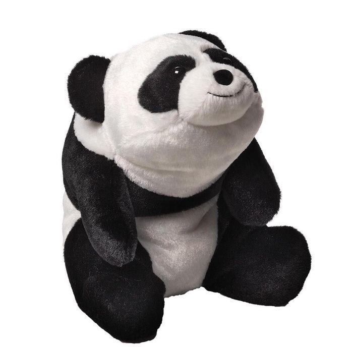 Игрушка мягкая Gund Snuffles Panda, цвет: черный, белый, 26 см. 40402014040201Очаровательная мягкая игрушка Snuffles Panda не оставит вас равнодушным и вызовет улыбку у каждого, кто ее увидит. Игрушка выполнена из полиэстера в виде симпатичной панды. Милые, мягкие и безопасные игрушки отличаются реалистичным внешним видом, напоминающим настоящего питомца. Только посмотрите на эту милую мордашку, которая так приветливо смотрит на вас. Разве можно устоять перед ее обаянием? Конечно нет, да и не нужно! Такая игрушка вызывает умиление не только у детей, но и у взрослых. Поэтому она станет отличным подарком не только ребенку, но и друзьям!
