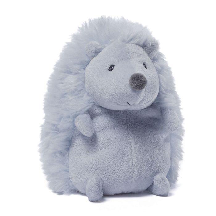 Игрушка мягкая Gund Pokey Hedgehog, цвет: голубой, 16 см. 40484964048496Очаровательная мягкая игрушка Pokey Hedgehog не оставит вас равнодушным и вызовет улыбку у каждого, кто ее увидит. Игрушка выполнена из полиэстера в виде милого голубого ежика. Милые, мягкие и безопасные игрушки отличаются реалистичным внешним видом, напоминающим настоящего питомца. Только посмотрите на эту милую мордашку, которая так приветливо смотрит на вас. Разве можно устоять перед ее обаянием? Конечно нет, да и не нужно! Такая игрушка вызывает умиление не только у детей, но и у взрослых. Поэтому она станет отличным подарком не только ребенку, но и друзьям!