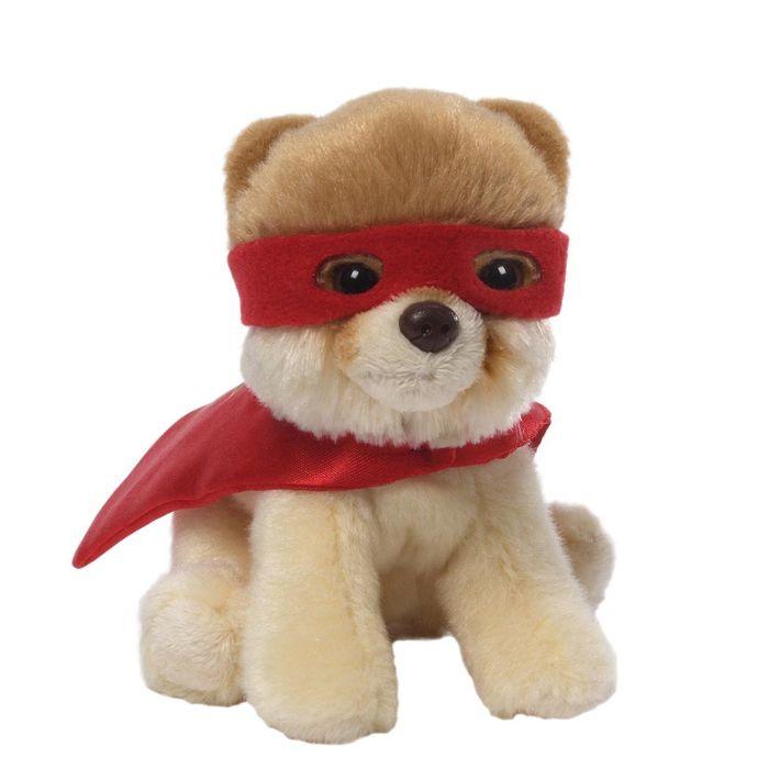 Игрушка мягкая Gund Superhero Boo, цвет: бежевый, 12 см4046473Игрушка мягкая Superhero Boo не оставит вас равнодушным и вызовет улыбку у каждого, кто ее увидит. Игрушка выполнена в виде симпатичной собачки-супергероя. Милые, мягкие и безопасные игрушки отличаются реалистичным внешним видом, напоминающим настоящего питомца. Только посмотрите на эту милую мордашку, которая так приветливо смотрит на вас. Разве можно устоять перед ее обаянием? Конечно нет, да и не нужно! Такая игрушка вызывает умиление не только у детей, но и у взрослых. Поэтому она станет отличным подарком не только ребенку, но и друзьям!