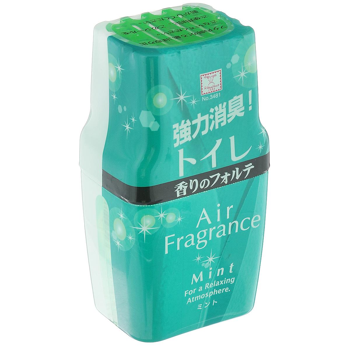 """Фильтр посторонних запахов в туалете KOKUBO """"Air Fragrance"""", с ароматом мяты, 200 мл 234813"""