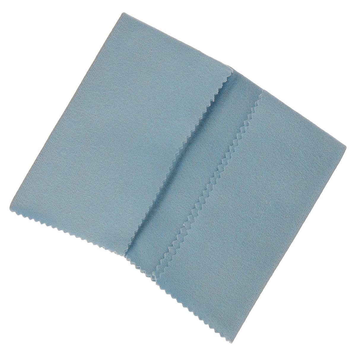 Салфетка для чистки и полировки Centralin, цвет: голубой, 31 х 23 см508008 голубойТекстильная салфетка Centralin предназначена для чистки и полировки серебряных и золотых изделий. Салфетку можно использовать по нескольку раз. Также возможно применение и для чистки изделий из нержавеющей стали. Размер: 31 см х 23 см.