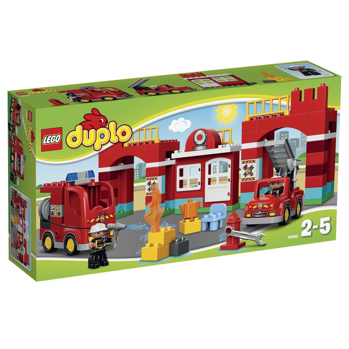 LEGO DUPLO Конструктор Пожарная станция 10593