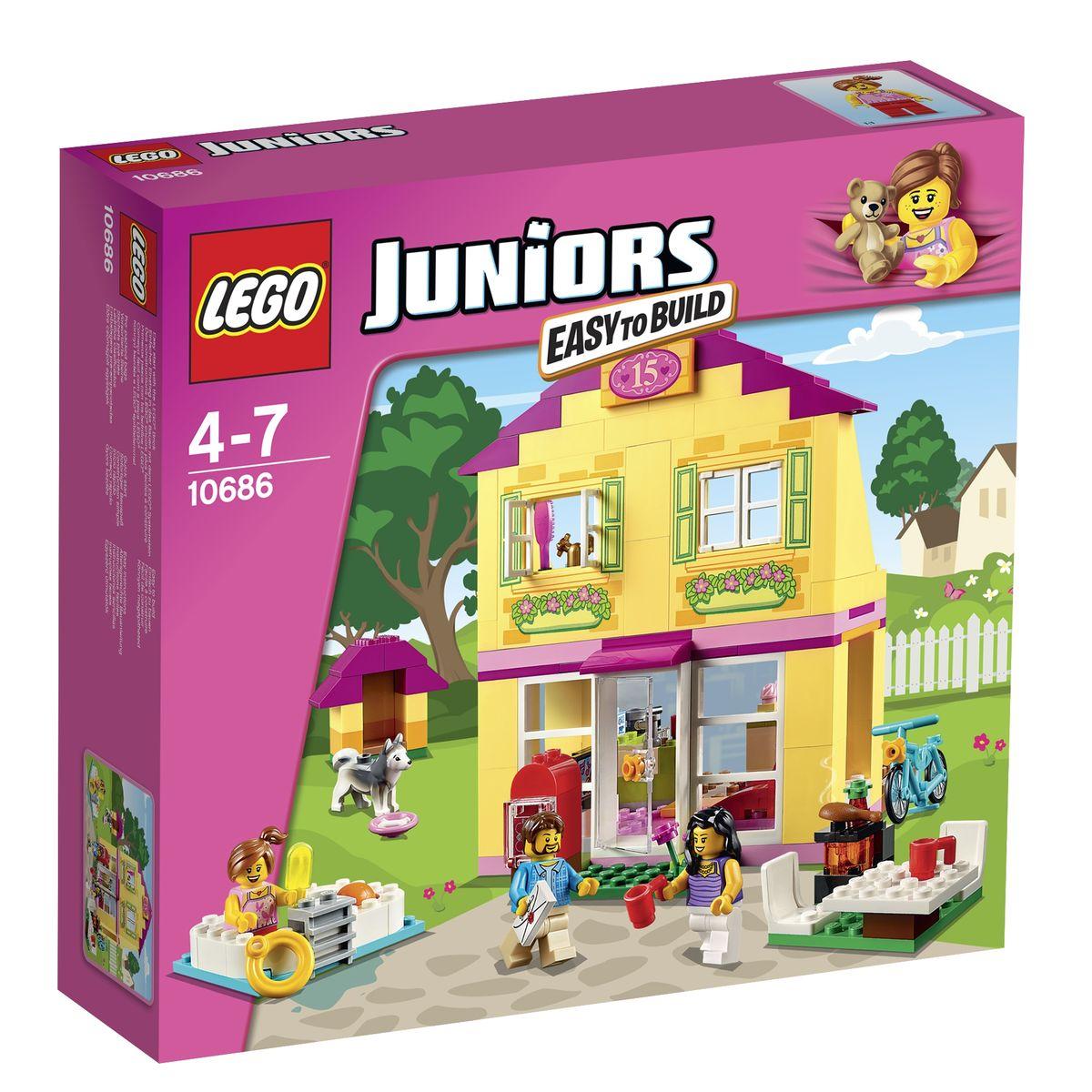 LEGO Juniors Конструктор Семейный домик 10686