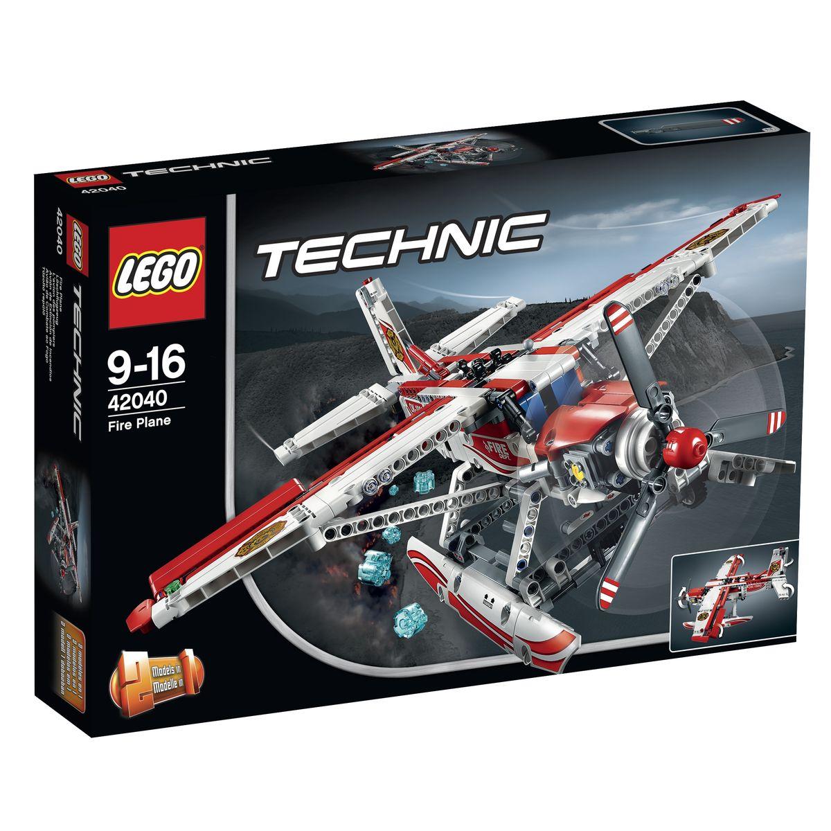 LEGO Technic Конструктор Пожарный самолет 42040
