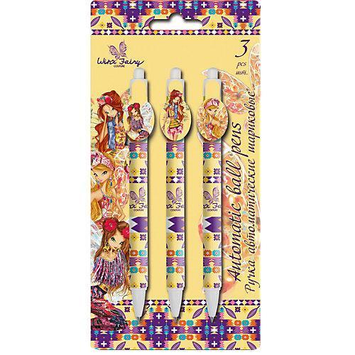 Набор из 3-х шариковых ручек Winx Fairy CoutureWXCB-US1-122-BL3