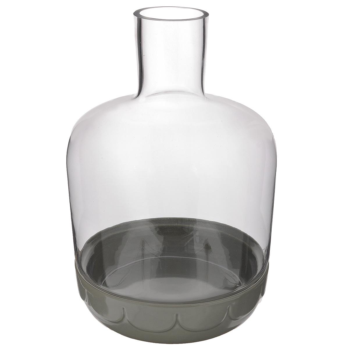 Горшок для цветов Sagaform, с крышкой, цвет: светло-серый, диаметр 19,5 см5016666Цветочный горшок Sagaform выполнен из высококачественной керамики и предназначен для выращивания в нем цветов, растений и трав. Горшок оснащен стеклянной крышкой-куполом. Такой горшок порадует вас современным дизайном и функциональностью, а также оригинально украсит интерьер помещения. Диаметр горшка: 19,5 см. Высота горшка (с учетом крышки): 30,5 см. Высота горшка (без учета крышки): 5,5 см.