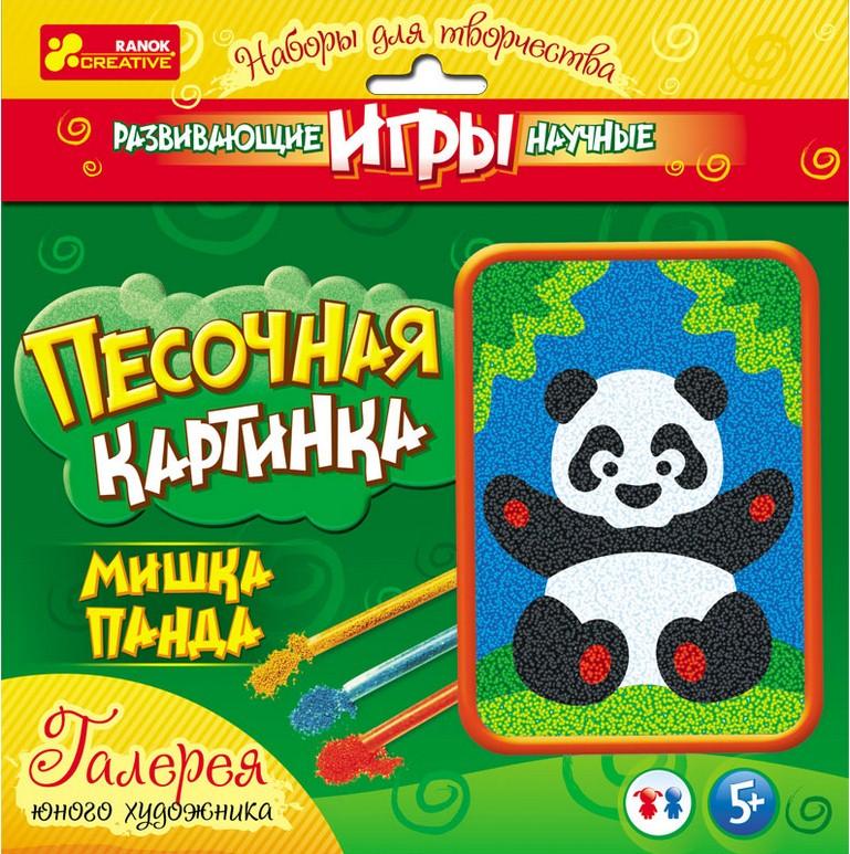 Панда (Н) - Картинка из песка (новая)