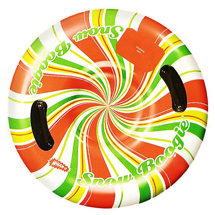 Ватрушка Wham-O Воздушый поток, цвет: белый, красный, желтый, зеленыйSB39045Ватрушка Wham-O Воздушый поток - это отличный вариант для тех, кто любит весело проводить время зимой, катаясь с горки. Она выполнена из высокопрочного современного материала и отлично выдерживает повышенные нагрузки. Санки снабжены двумя удобными ручками, за которые ребенок сможет держаться. Ватрушка станет незаменимым атрибутом зимних прогулок, а летом ее можно использовать как матрас для плавания. Ваш ребенок будет в восторге от такого подарка! В комплект входят две заплатки для ремонта в случае прокола. УВАЖАЕМЫЕ КЛИЕНТЫ! Просим обратить ваше внимание на тот факт, что товар поставляется в сдутом виде и надувается при помощи насоса (насос не входит в комплект).
