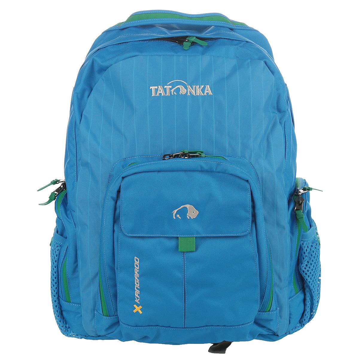 Рюкзак городской Tatonka Kangaroo, цвет: голубой, 27 л. 1601.1941601.194