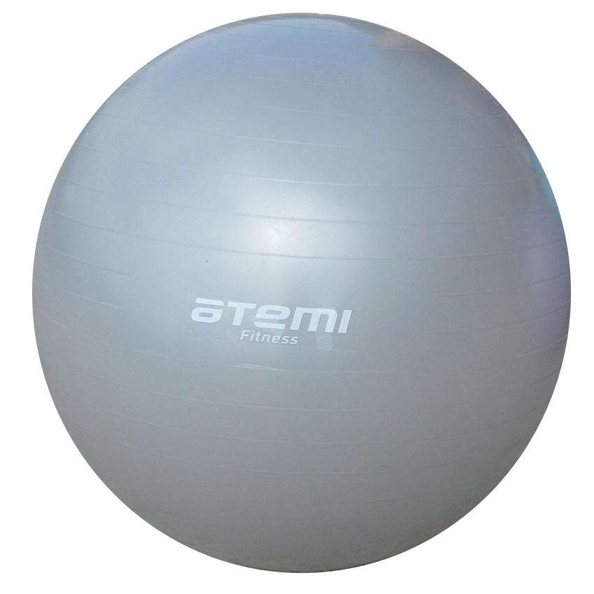 Мяч гимнастический, Atemi, серый, 85 см., AGB-01-85