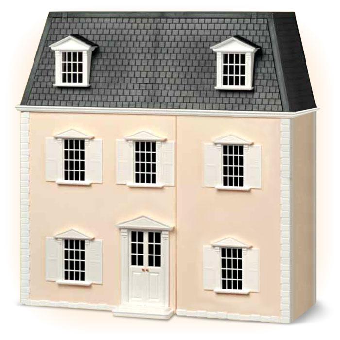 Каркас кукольного домикаRHHOUSВоплотить давнюю мечту и обставить изысканный особняк уникальной мебелью по собственному вкусу вам поможет коллекция Дом мечты. Каркас дома имеет размеры 70 x 36 x 67 см. Модель великолепного особняка, выполненного в викторианском стиле, можно дополнить предметами интерьера, которые появятся вместе со следующими номерами.