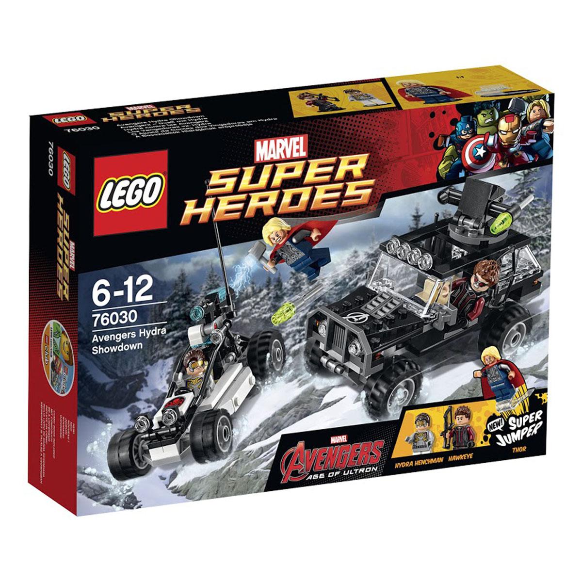 LEGO Super Heroes Конструктор Гидра против Мстителей 76030