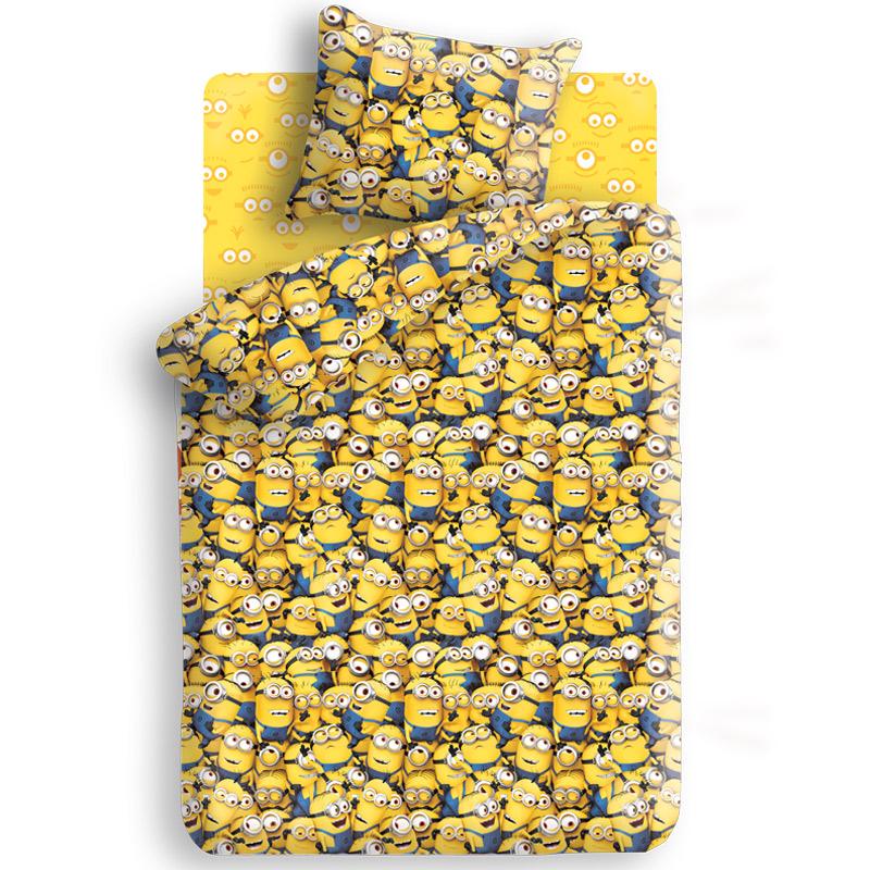 Комплект белья Миньоны, 1,5-спальный, наволочка 70х70, цвет: желтый, синий288762Комплект детского постельного белья Миньоны является экологически безопасным, так как выполнен из натурального органического хлопка. Комплект состоит из пододеяльника, простыни и наволочки, оформленных изображением мультипликационных героев - Миньонов. Такой комплект постельного белья подарит вашему ребенку спокойный и сладкий сон, а также порадует яркостью и красочностью оформления.