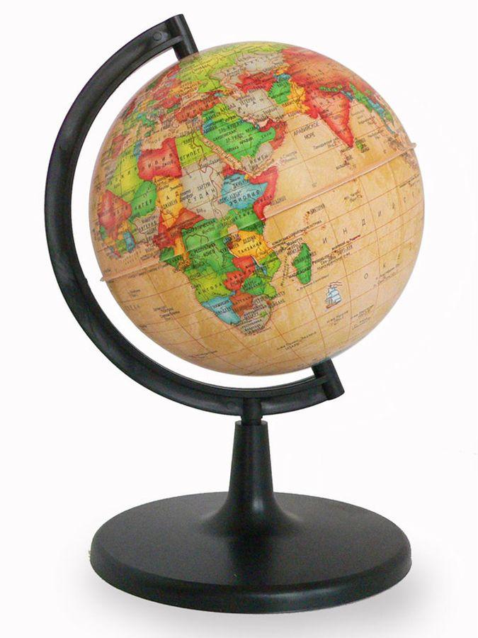 Глобус политический диаметр 150 мм Ретро-Александр рельефный