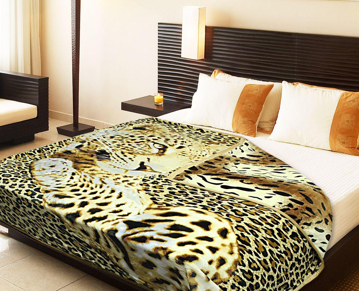 Плед Buenas Noches Фланель. Леопард, цвет: коричневый, белый, черный, 200 х 220 см65194Двухсторонний плед Buenas Noches - это идеальное решение для вашего интерьера! Он порадует вас легкостью, нежностью и разноплановыми дизайнами с двух сторон: одна сторона оформлена изображением леопарда, а другая - стилизованным принтом под окрас тигра! Плед выполнен из 100% полиэстера. Полиэстер считается одной из самых популярных тканей. Это материал синтетического происхождения из полиэфирных волокон. Изделия из полиэстера не мнутся и легко стираются. После стирки очень быстро высыхают. Плед - это такой подарок, который будет всегда актуален, особенно для ваших родных и близких, ведь вы дарите им частичку своего тепла! Продукция торговой марки Buenas Noches сделана с особой заботой, специально для вас и уюта в вашем доме!
