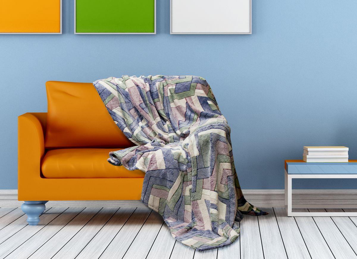 Плед Buenas Noches Bamboo, цвет: синий, зеленый, красный, 200 х 220 см65812Плед Buenas Noches - это идеальное решение для вашего интерьера! Он порадует вас легкостью, нежностью и оригинальным дизайном! Плед выполнен из 100% полиэстера и оформлен изображением разноцветных камешков. Полиэстер считается одной из самых популярных тканей. Это материал синтетического происхождения из полиэфирных волокон. Изделия из полиэстера не мнутся и легко стираются. После стирки очень быстро высыхают. Плед - это такой подарок, который будет всегда актуален, особенно для ваших родных и близких, ведь вы дарите им частичку своего тепла! Продукция торговой марки Buenas Noches сделана с особой заботой, специально для вас и уюта в вашем доме! Состав: 100% полиэстер.