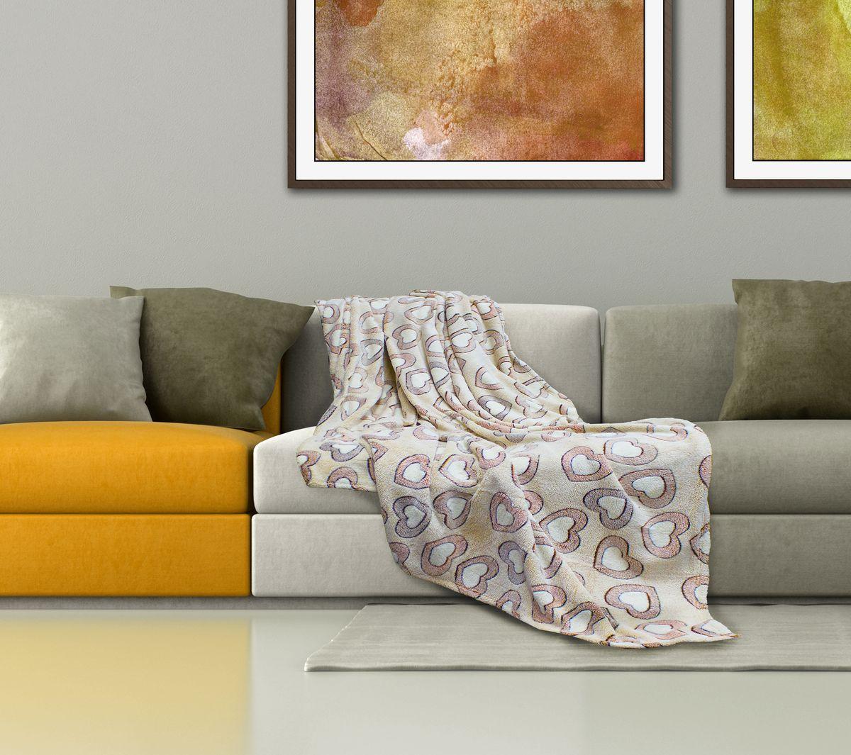 Плед Buenas Noches Bamboo, цвет: молочный, коричневый, 150 см х 200 см69543Плед Buenas Noches - это идеальное решение для вашего интерьера! Он порадует вас легкостью, нежностью и оригинальным дизайном! Плед выполнен из 100% полиэстера и оформлен изображением разноцветных камешков. Полиэстер считается одной из самых популярных тканей. Это материал синтетического происхождения из полиэфирных волокон. Изделия из полиэстера не мнутся и легко стираются. После стирки очень быстро высыхают. Плед - это такой подарок, который будет всегда актуален, особенно для ваших родных и близких, ведь вы дарите им частичку своего тепла! Продукция торговой марки Buenas Noches сделана с особой заботой, специально для вас и уюта в вашем доме! Состав: 100% полиэстер.