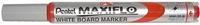 Маркер для досок красный 4.0 мм,с жидкими чернилами и кнопкой подкачки чернил MAXIFLO