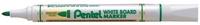 Маркер для досок зеленый 4.2 мм в блистереPMW85-DМаркер для белой доски. Пулеобразный наконечник. Удобный белоснежный корпус. Диаметр стержня: 4,2 мм. Длительность письма в 4 раза превышает обычные маркеры.; Пулеобразный наконечник.;
