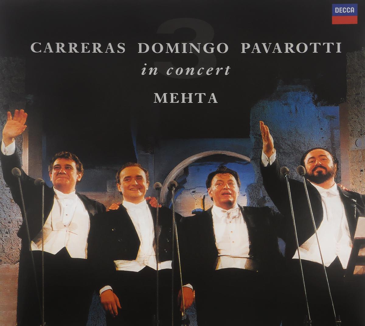 Carreras. Domingo. Pavarotti. Mehta. Three Tenors. 25th Anniversary Edition (LP)