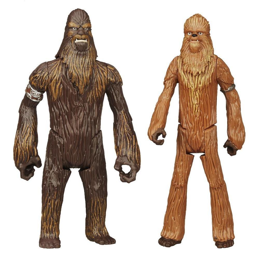 Набор фигурок Star Wars Wullffwarro и Wookiee Warrior, 2 штB3886EU4_A9817Набор фигурок Star Wars Wullffwarro и Wookiee Warrior привлечет внимание любого поклонника знаменитой саги Звездные войны. Фигурки порадуют вас высоким качеством исполнения. В набор входят 2 фигурки героев вселенной Звездных войн. Фигурки выполнены из прочного пластика и отличаются высокой степенью детализации. Руки, ноги и головы фигурок подвижны, что позволяет придавать им разнообразные позы. Высокое качество исполнения понравится маленьким и взрослым коллекционерам, и такие фигурки займут достойное место в любой коллекции. Порадуйте себя и своего ребенка таким замечательным подарком!