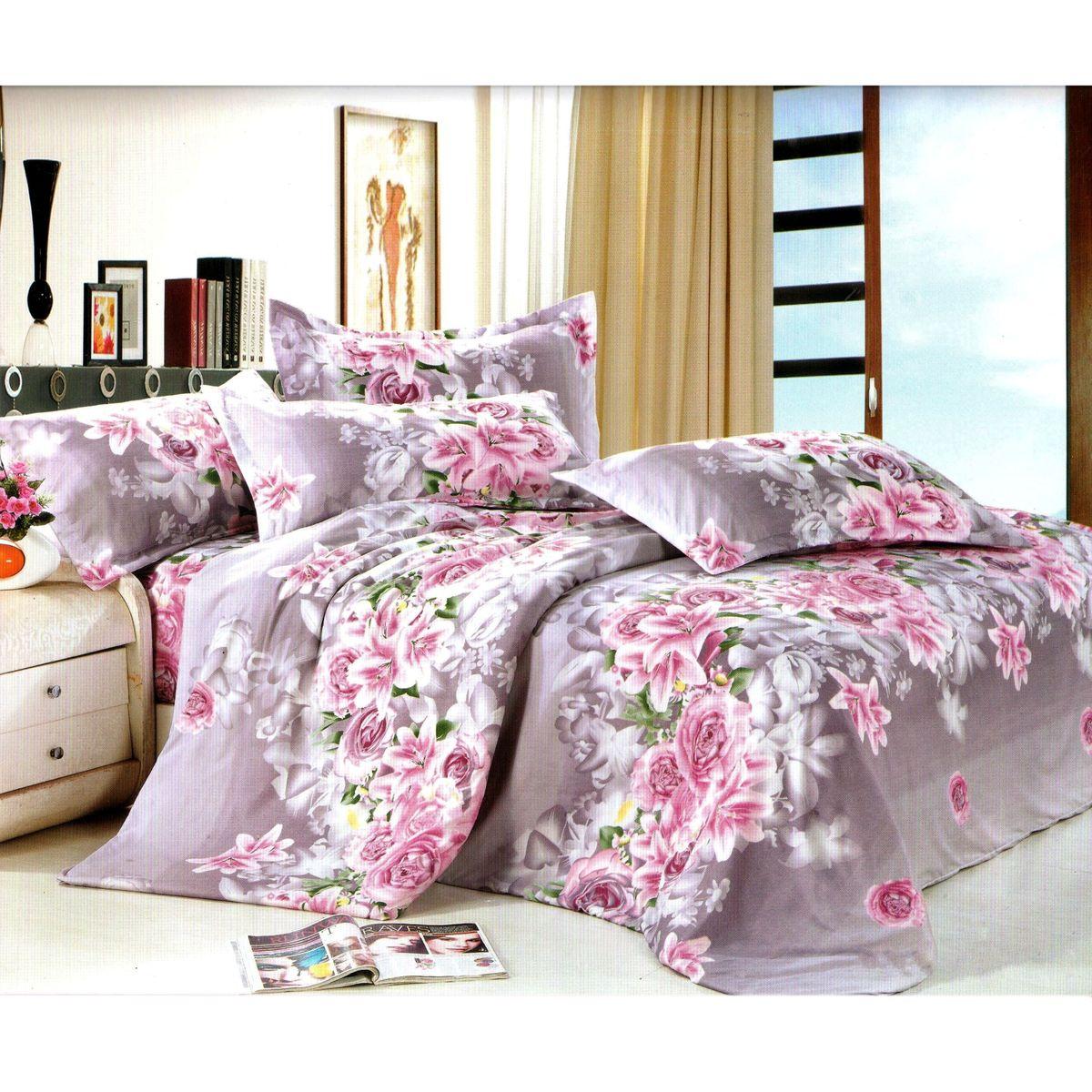 Комплект белья Этель, 1,5-спальный, наволочки 70x70. 103538103538