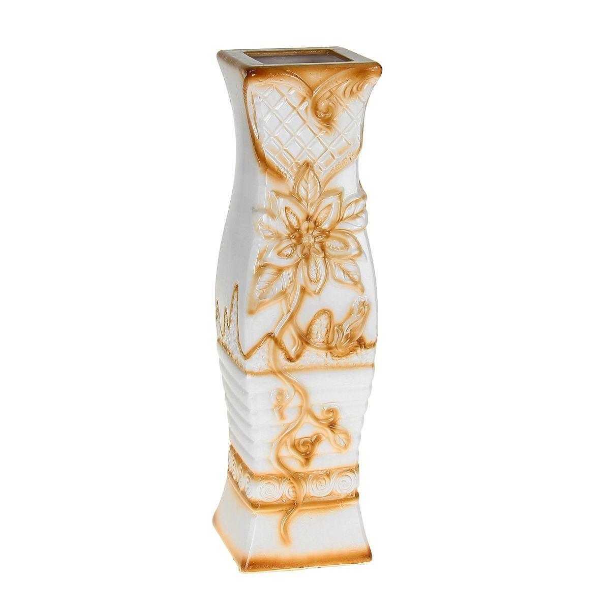 Ваза керамика напольная 60 см цветущая лилия 10449841044984Керамика