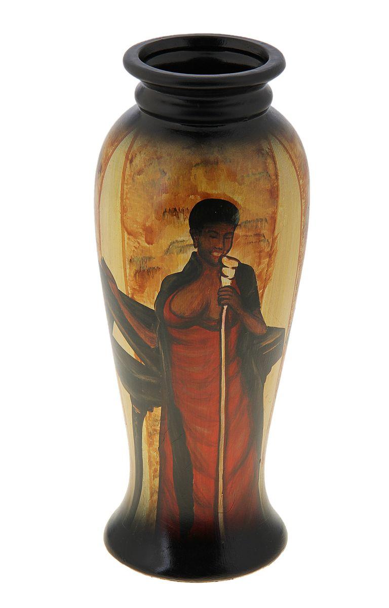 ваза ручной работы талия 27*11*8 см певица 106849106849Керамика