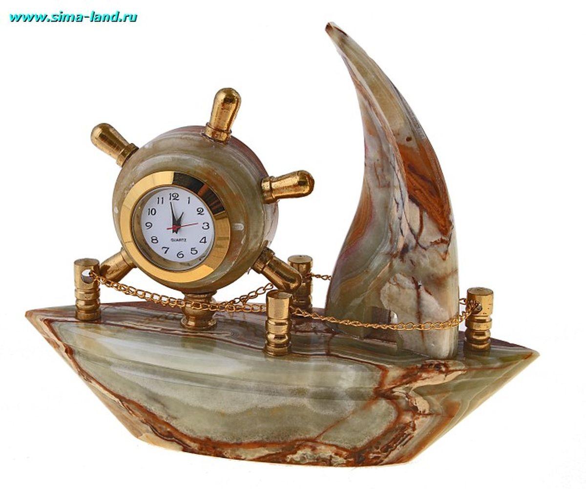 "Часы Корабль 5"" 13х4х10,5 см оникс 244019 ( 244019 )"