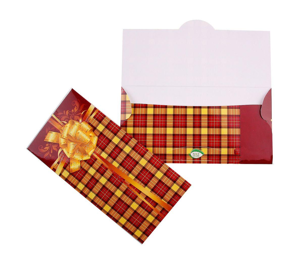 Конверт для денег Sima-land. 707302707302Конверт для денег Sima-land универсальный выполнен из плотной бумаги и украшен яркой картинкой с орнаментом. Это необычная красивая одежка для денежного подарка, а так же отличная возможность сделать его более праздничным и создать прекрасное настроение! Конверт Sima-land - идеальное решение, если вы хотите подарить деньги.