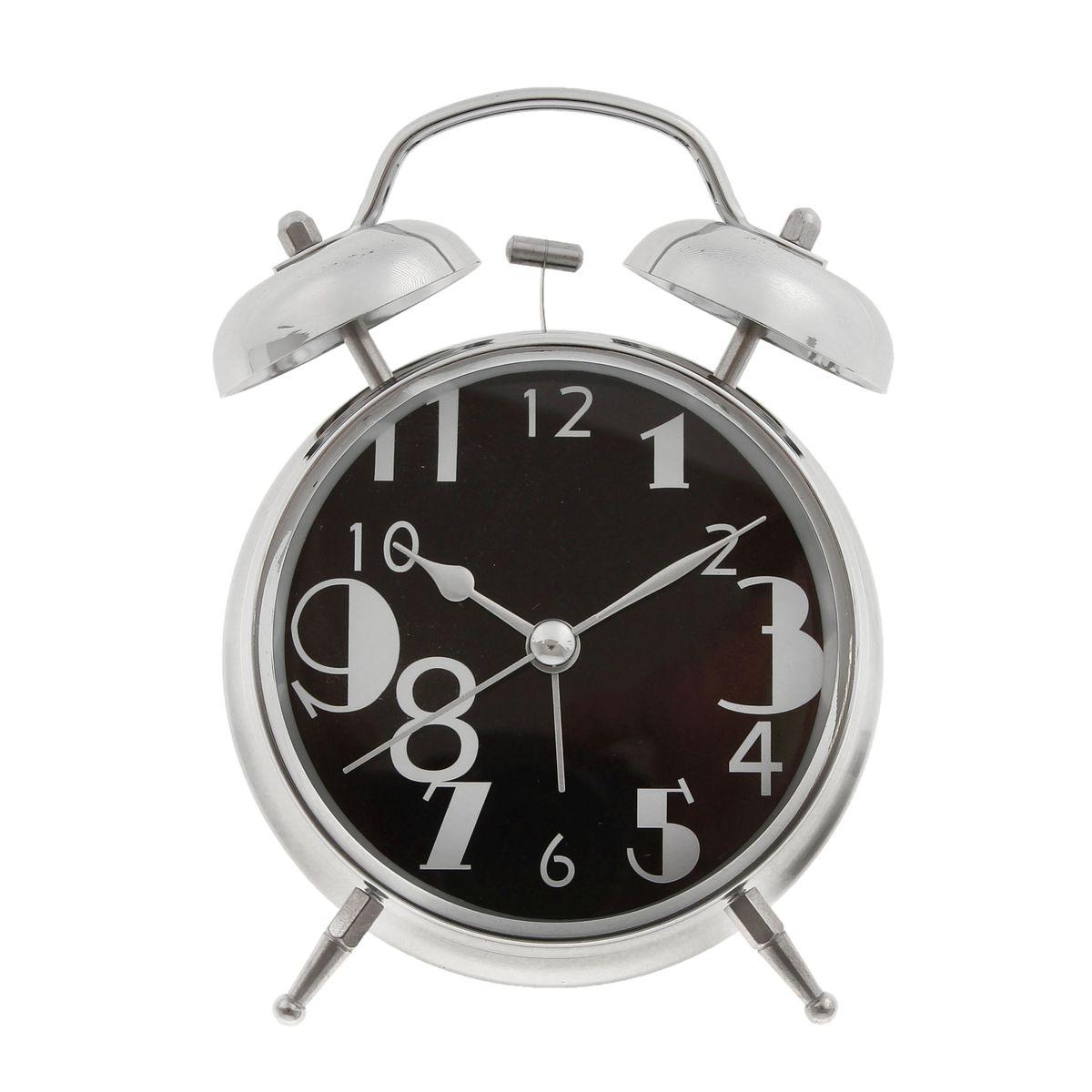 Часы-будильник Sima-land. 720850720850Как же сложно иногда вставать вовремя! Всегда так хочется поспать еще хотя бы 5 минут и бывает, что мы просыпаем. Теперь этого не случится! Яркий, оригинальный будильник Sima-land поможет вам всегда вставать в нужное время и успевать везде и всюду. Время показывает точно и будит в установленный час. Будильник украсит вашу комнату и приведет в восхищение друзей. На задней панели будильника расположены переключатель включения/выключения механизма и два колесика для настройки текущего времени и времени звонка будильника. Также будильник оснащен кнопкой, при нажатии и удержании которой, подсвечивается циферблат. Будильник работает от 2 батареек типа AA напряжением 1,5V (не входят в комплект).