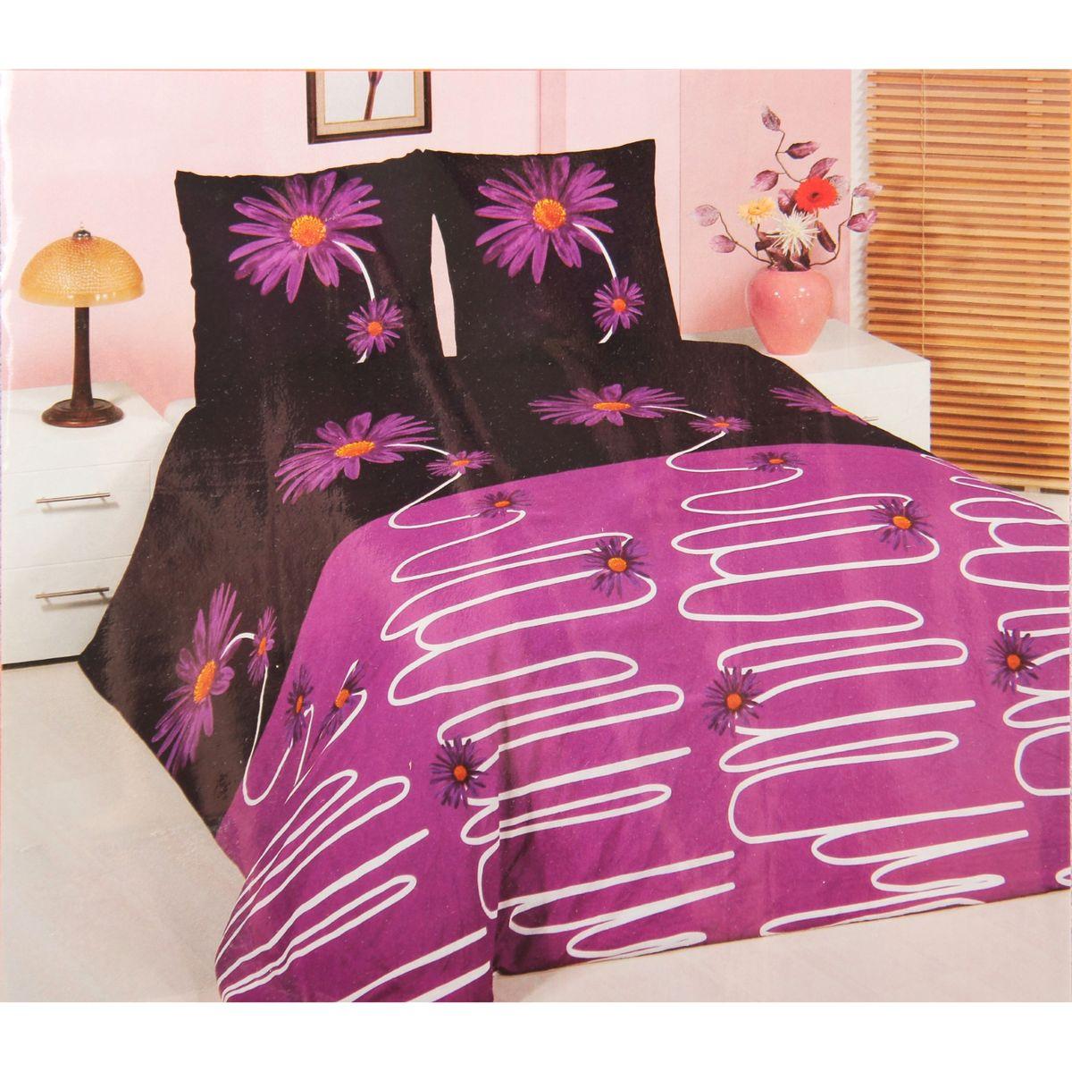 Комплект белья ANTALYA, 1,5-спальный, наволочки 70x70. 824697824697произведено из высококачественного турецкого хлопка, простынка на резинке, пододеяльник и наволочки на замке