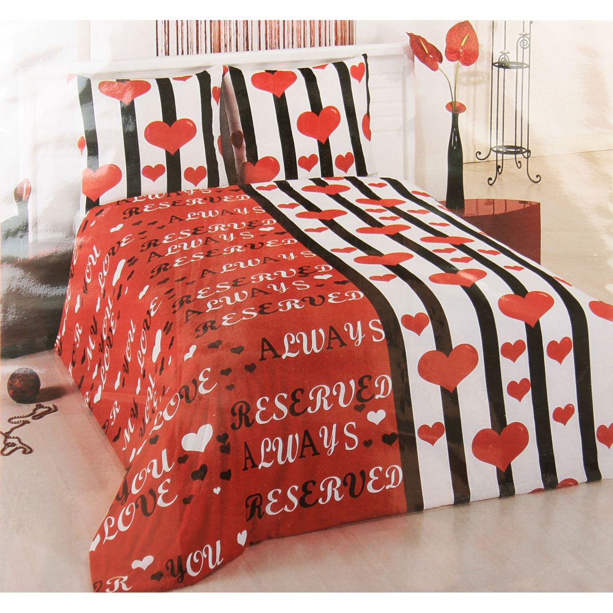 Комплект белья ANTALYA, 2-спальный, наволочки 70x70. 824701824701произведено из высококачественного турецкого хлопка, простынка на резинке, пододеяльник и наволочки на замке