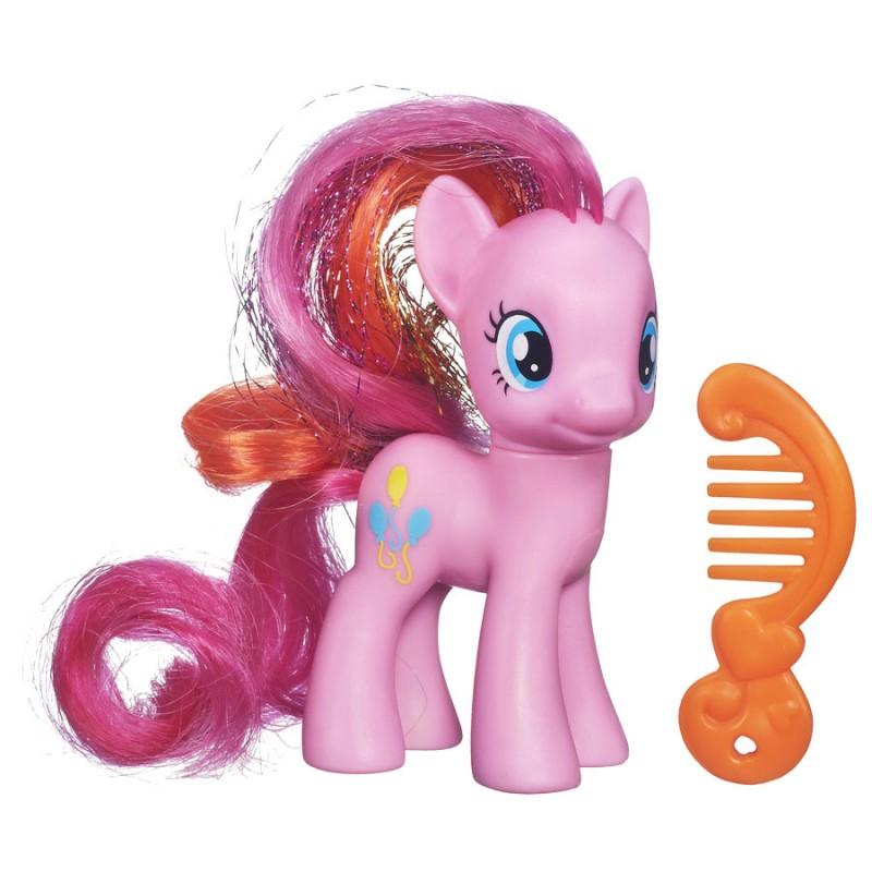 My Little Pony Фигурка Пони Пинки Пай с аксессуаромA9972_A2360_SolidФигурка My Little Pony Пинки Пай обязательно обрадует вашу малышку. Благодаря волшебной силе Rainbow Power, все пони преобразились! Теперь у Пинки Пай красивая разноцветная грива в радужном стиле. Фигурка выполнена из прочного пластика. Девочке непременно понравятся ее шелковистые грива и хвостик, которые так весело расчесывать и заплетать, выдумывая невероятные прически. В комплект входит расческа для пони. Благодаря маленьким размерам фигурки ребенок сможет брать ее с собой на прогулку или в гости. Порадуйте свою малышку таким замечательным подарком, и она проведет множество увлекательных часов, играя с очаровательной пони и придумывая свои удивительные истории!