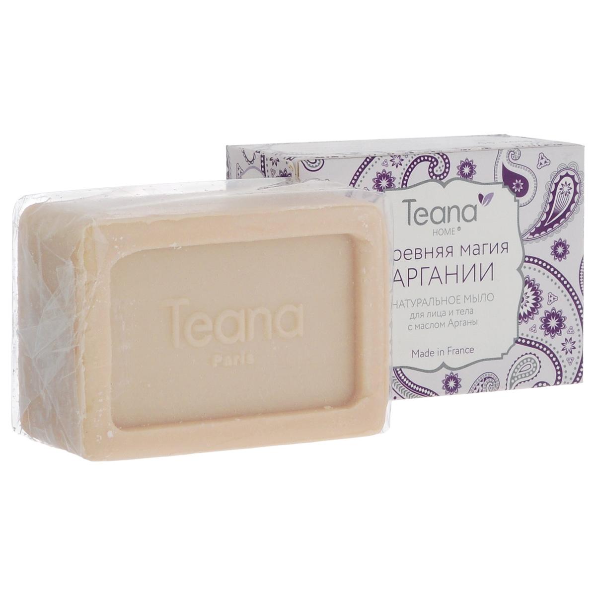 Teana Натуральное мыло для лица и тела Древняя магия Аргании, для сухой и чувствительной кожи, с маслом Арганы , 100 г