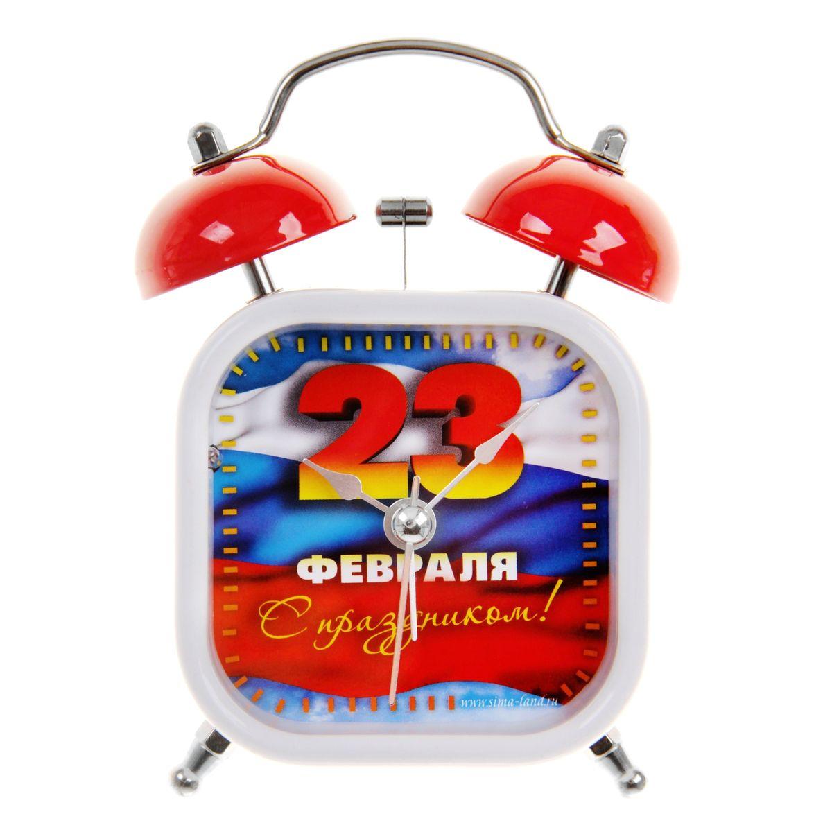 Zakazat.ru: Часы-будильник Sima-land С 23 февраля