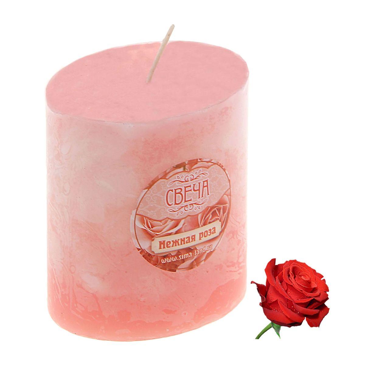 Свеча ароматизированная Sima-land Слияние, с ароматом розы, цвет: розовый, белый, высота 7 см849523Ароматизированная свеча Sima-land Слияние изготовлена из воска. Изделие отличается оригинальным дизайном и приятным ароматом розы. Свеча Sima-land Слияние - это прекрасный выбор для тех, кто хочет сделать запоминающийся презент родным и близким. Она поможет создать атмосферу праздника. Такой подарок запомнится надолго.