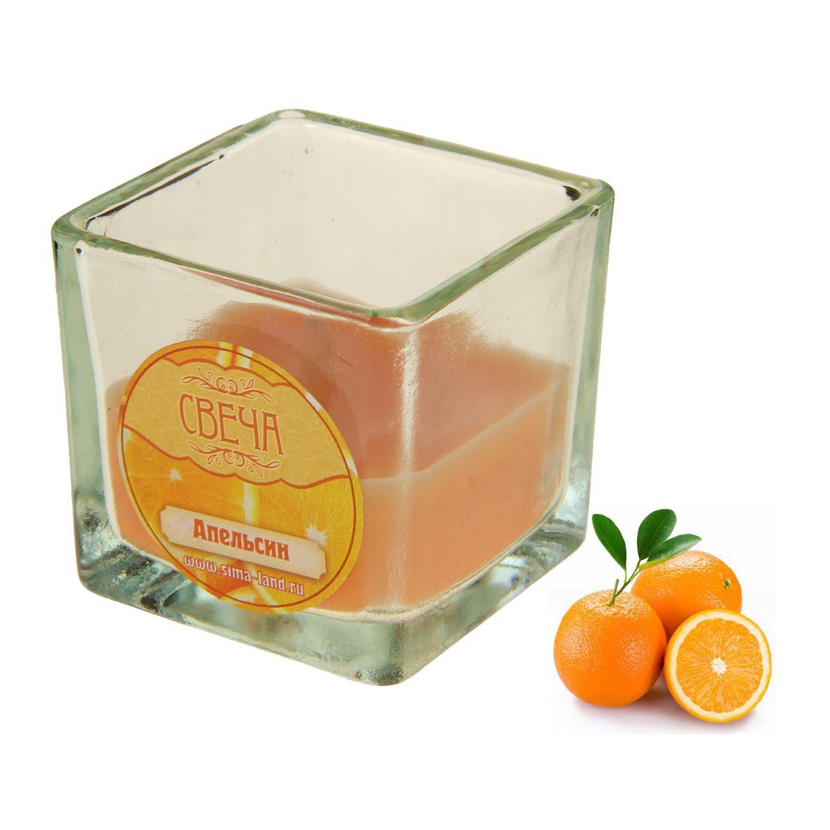 Свеча ароматизированная Sima-land Апельсин, высота 5 см853443Ароматизированная свеча Sima-land Апельсин изготовлена из воска и расположена в стеклянном стакане. Изделие отличается оригинальным дизайном и приятным ароматом. Такая свеча может стать отличным подарком или создаст незабываемую атмосферу праздника в вашем доме.