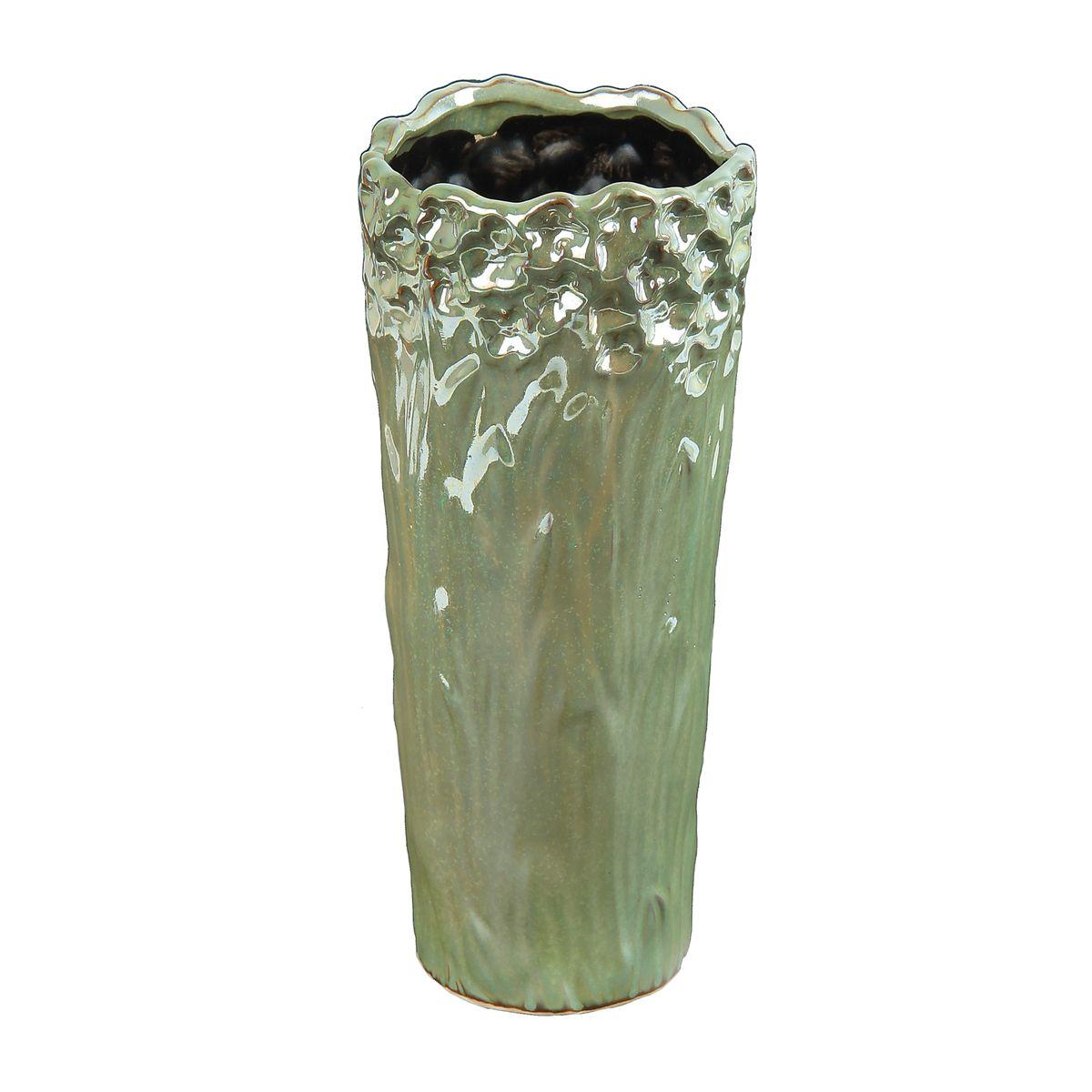 Ваза керамика перелив 27*12 см 863613